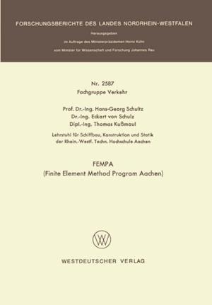 FEMPA (Finite Element Method Program Aachen) af Hans-Georg Schultz
