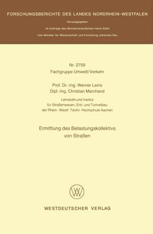 Ermittlung des Belastungskollektivs von Straen af Werner Leins