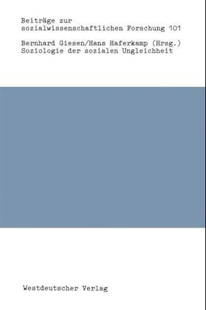 Soziologie der sozialen Ungleichheit