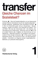 Gleiche Chancen im Sozialstaat? af Garry D. Brewer, Carl Bohret, Ronald D. Brunner