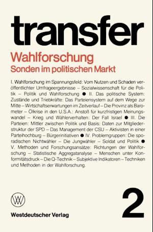 Wahlforschung: Sonden im politischen Markt af Garry D. Brewer, Carl Bohret, Ronald D. Brunner