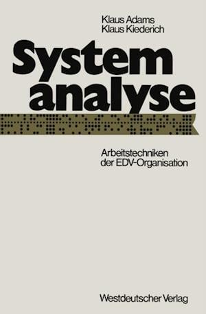 Systemanalyse af Klaus Adams