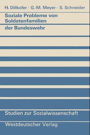 Soziale Probleme von Soldatenfamilien der Bundeswehr af Dillkofer Heidelore