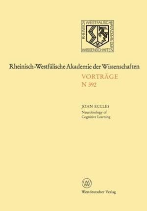 Neurobiology of Cognitive Learning af John C. Eccles