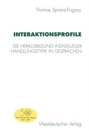 Interaktionsprofile af Thomas Spranz-Fogasy