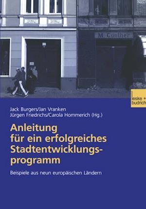 Anleitung fur ein erfolgreiches Stadtentwicklungsprogramm