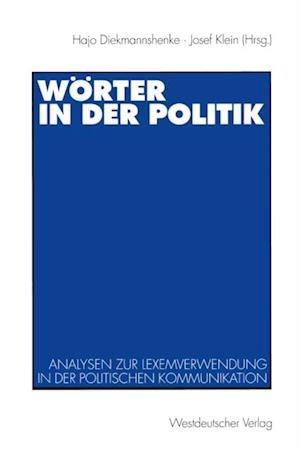 Worter in der Politik