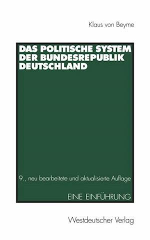Das Politische System der Bundesrepublik Deutschland af Klaus Von Beyme