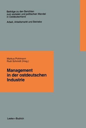 Management in der ostdeutschen Industrie