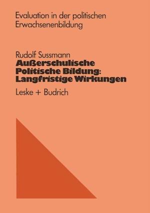 Auerschulische Politische Bildung: Langfristige Wirkungen af Rudolf Sussmann
