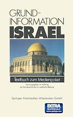 Grundinformation Israel af Bundeszentrale Fur Politische Bildung
