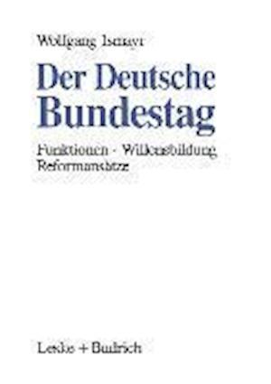 Der Deutsche Bundestag af Wolfgang Ismayr, Wolfgang Ismayr