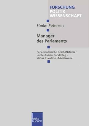 Manager des Parlaments af Sonke Petersen
