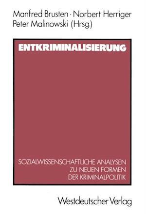 Entkriminalisierung af Norbert Herriger