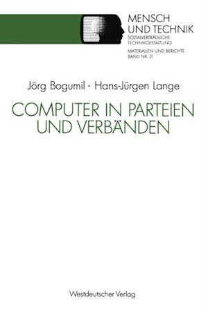 Computer in Parteien und Verbanden af Hans-Jurgen Lange