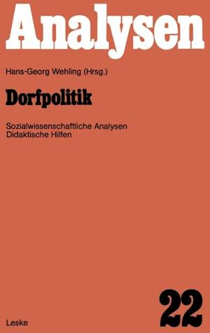 Dorfpolitik af Hans-Georg Wehling