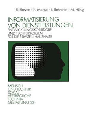 Informatisierung von Dienstleistungen af Kurt Monse, Erich Behrendt