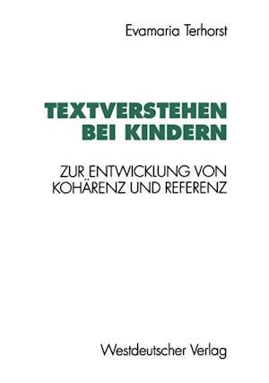 Textverstehen bei Kindern af Evamaria Terhorst