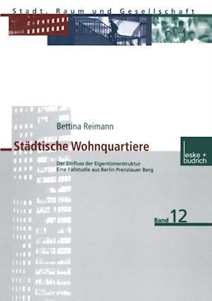 Stadtische Wohnquartiere af Bettina Reimann
