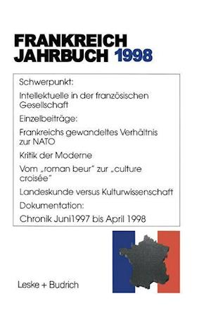 Frankreich-Jahrbuch 1998 af Hans Manfred Bock, Wolfgang Asholt, Lothar Albertin