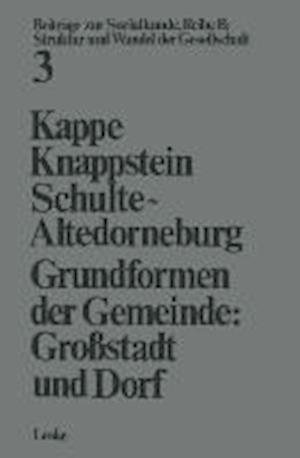 Grundformen Der Gemeinde af Dieter Kappe