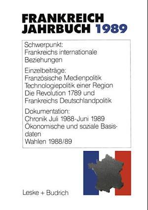 Frankreich-Jahrbuch 1989 af Deutsch-Franzosisches Institut
