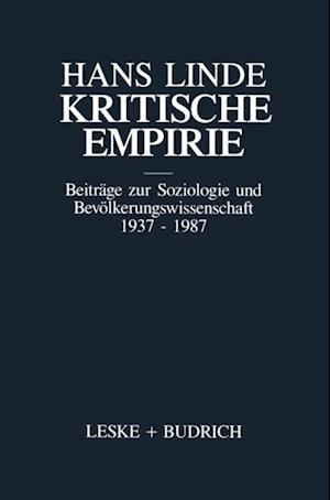Kritische Empirie af Hans Linde