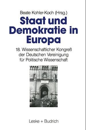 Staat und Demokratie in Europa