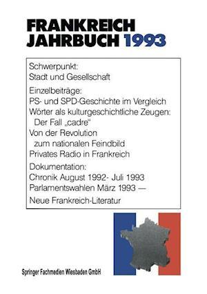 Frankreich-Jahrbuch 1993 af Deutsch-Franzosisches Institut, Deutsch-Franzosisches Institut