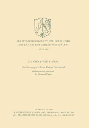 Das Stutzengescho der Pisaner Domkanzel af Herbert ˜vonœ Einem