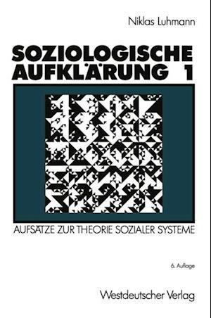 Soziologische Aufklarung 1 af Niklas Luhmann