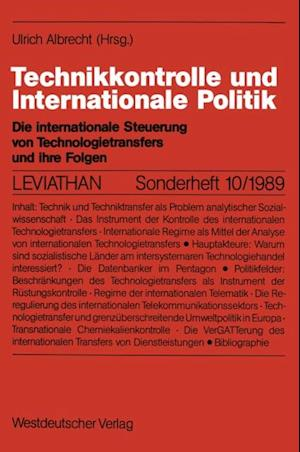 Technikkontrolle und Internationale Politik