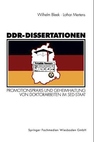 DDR-Dissertationen af Lothar Mertens