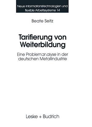 Tarifierung von Weiterbildung af Beate Seitz