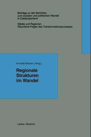 Regionale Strukturen im Wandel