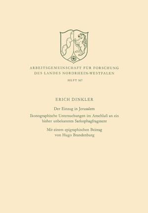 Der Einzug in Jerusalem af Erich Dinkler