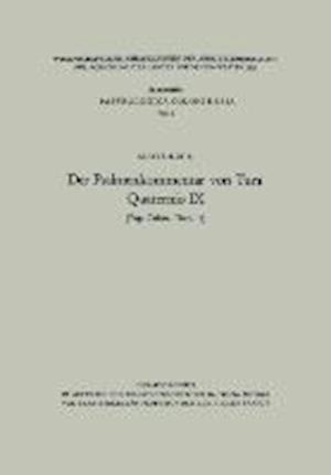 Der Psalmenkommentar Von Tura af Aloys Kehl, Aloys Kehl