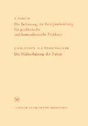 Die Bedeutung Der Isotopenforschung Fur Geochemische Und Kosmochemische Probleme. Die Nichterhaltung Der Paritat af Friedrich Adolf Paneth, Friedrich Adolf Paneth