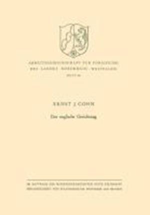Der Englische Gerichtstag af Ernst Joseph Cohn, Ernst Joseph Cohn