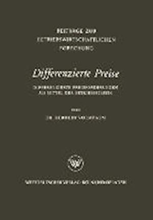 Differenzierte Preise af Herbert Vormbaum