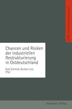 Chancen Und Risiken Der Industriellen Restrukturierung in Ostdeutschland af Rudi Schmidt, Burkart Lutz