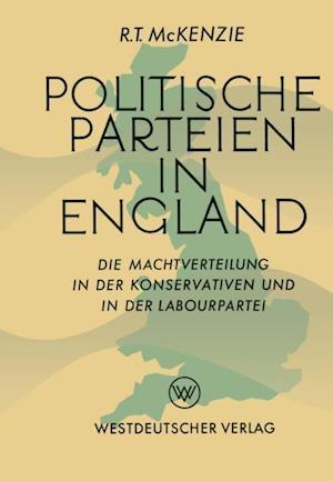Politische Parteien in England af Robert Trelford McKenzie
