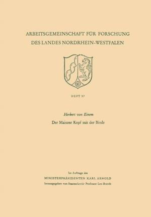 Der Mainzer Kopf mit der Binde af Herbert ˜vonœ Einem