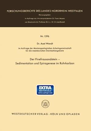 Der Finefrausandstein - Sedimentation und Epirogenese im Ruhrkarbon af Axel Wendt