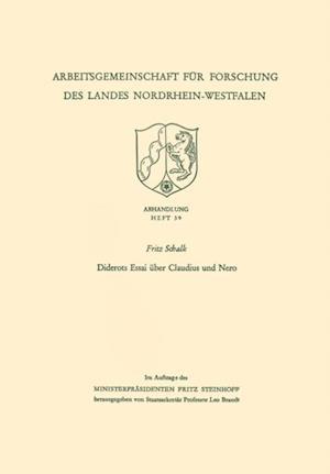 Diderots Essai uber Claudius und Nero af Fritz Schalk