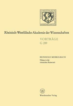 Nikaia in der romischen Kaiserzeit af Reinhold Merkelbach