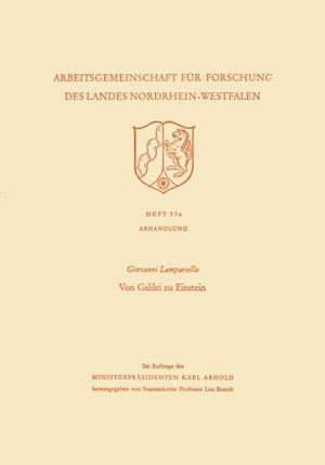 Von Galilei zu Einstein af Giovanni Lampariello