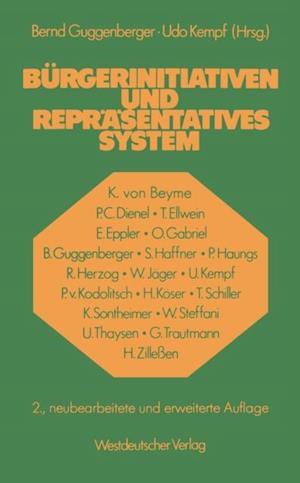 Burgerinitiativen und reprasentatives System