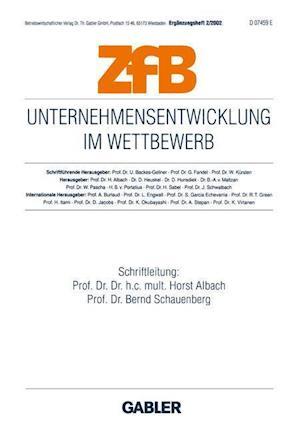 Unternehmensentwicklung im Wettbewerb af Horst Albach