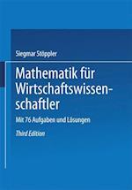 Mathematik Fur Wirtschaftswissenschaftler af Siegmar Stoppler